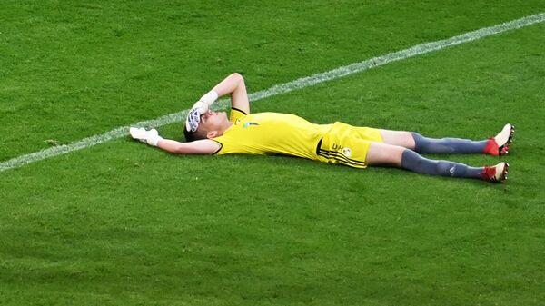 Игроки ФК Сочи радуются забитому мячу
