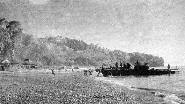 Десантная операция в Керчи