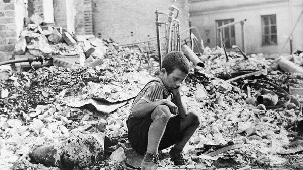 Маленькие герои большой войны. Оля и Лида Демеш