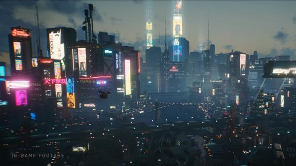 Появился новый трейлер Cyberpunk 2077
