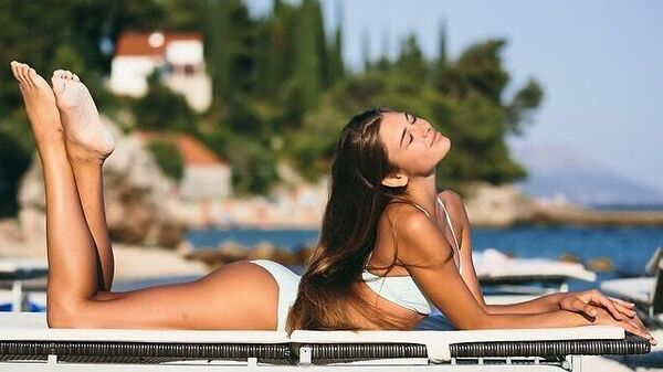 Российская гимнастка Александра Солдатова