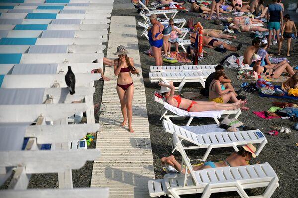 Пляжный отдых в Сочи