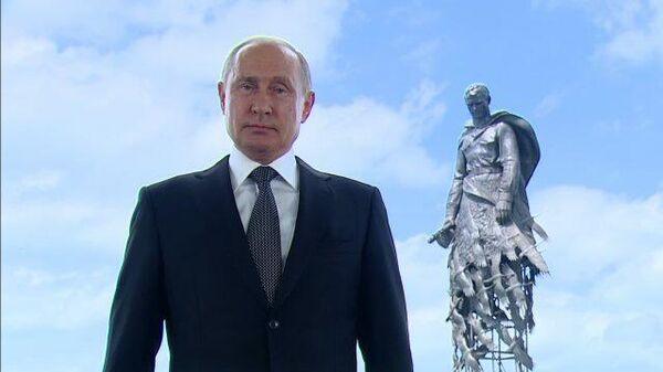 Путин: Мы голосуем за страну, в которой хотим жить