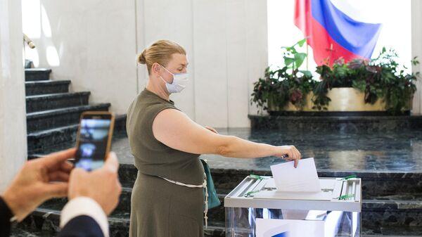 Голосование по внесению изменений в Конституцию РФ в Мадриде