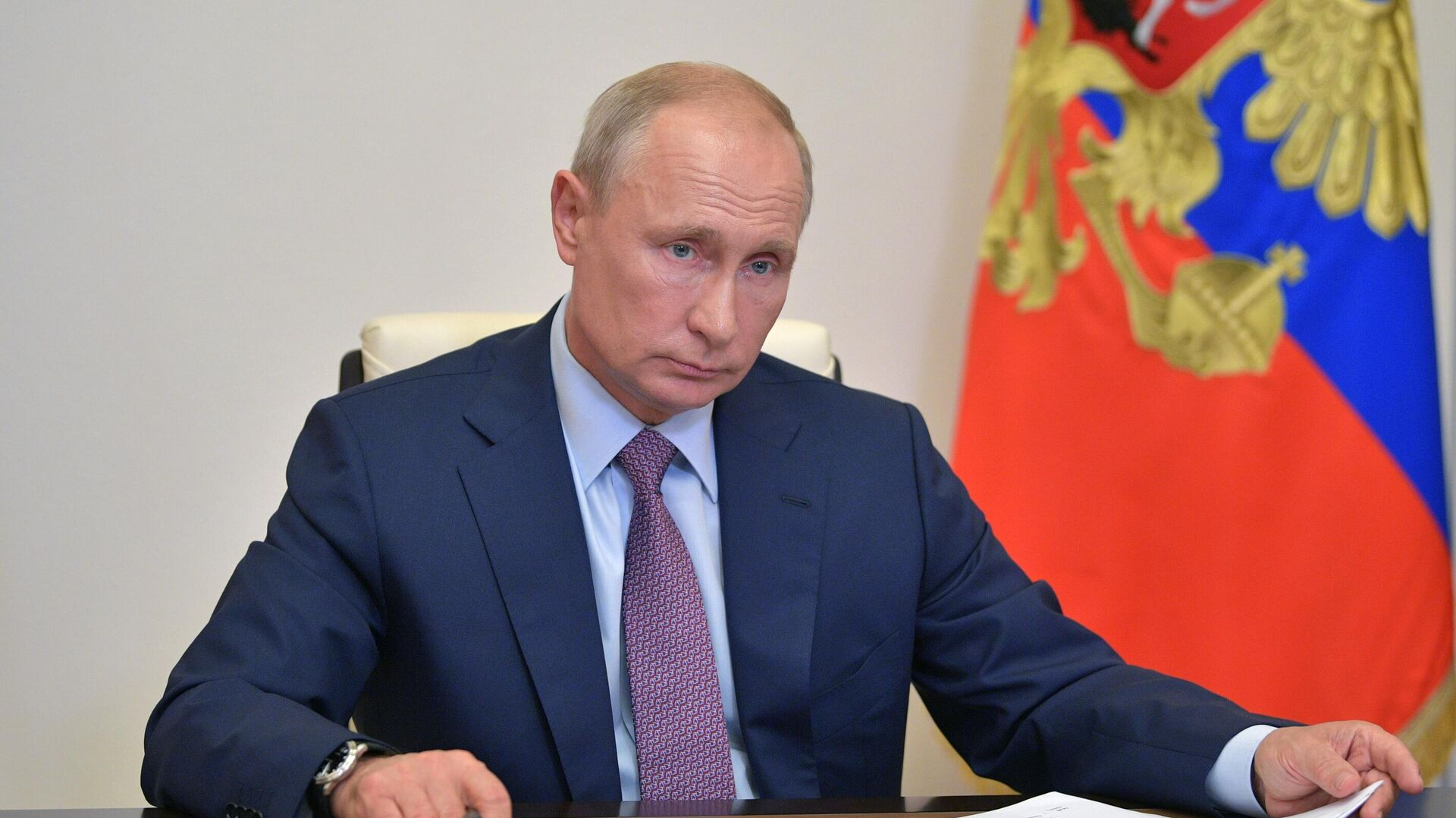 Президент РФ Владимир Путин - РИА Новости, 1920, 27.08.2020