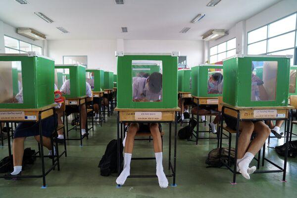 Занятия в провинции Патум Тани, Таиланд