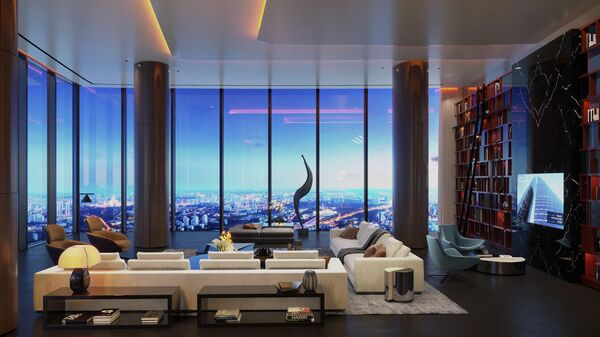 Апартаменты на 92-м этаже башни Федерация