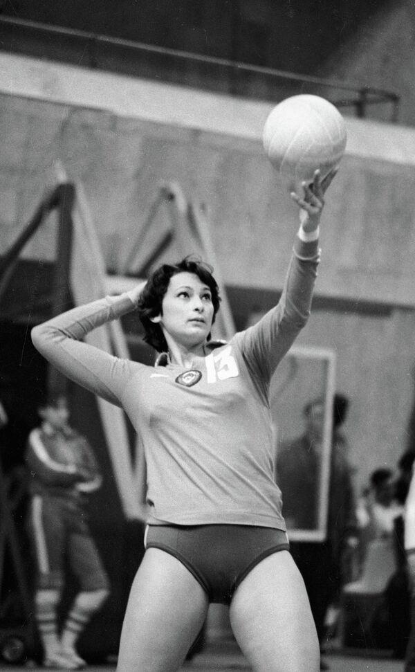 Волейболистка Лидия Логинова