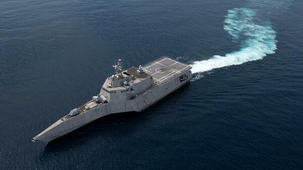 Корабль ВМС США Gabrielle Giffords