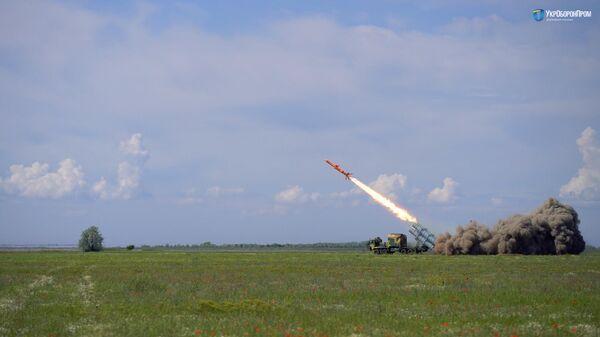 Испытание ракетного комплекса РК-360МЦ Нептун