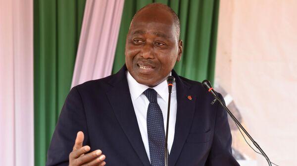 Премьер-министр Кот-д'Ивуара Амаду Гон Кулибали