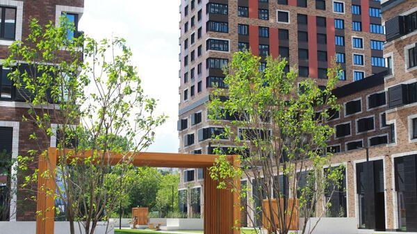 Первое пешеходное общественное пространство с 24 архитектурными объектами в виде рабочих кабинетов в столичном районе Гольяново