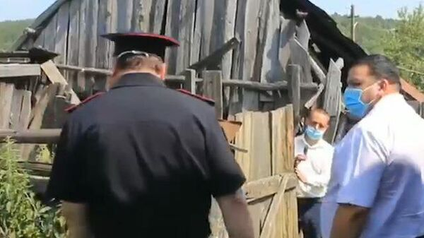 Кадры с места убийства ветерана ВОВ из Башкирии