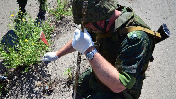 Работы по подготовке нового КПП Луганск-Счастье в Донбассе