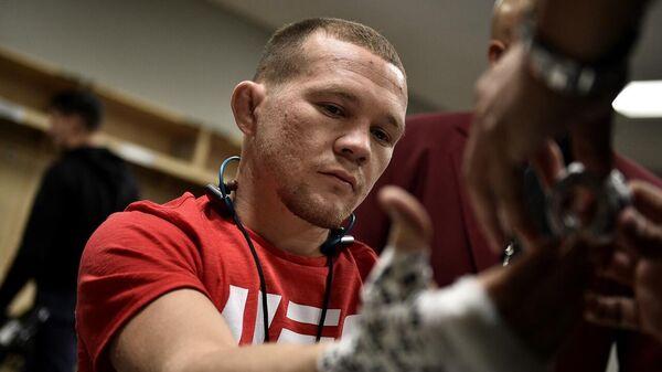 Российский боец MMA Петр Ян