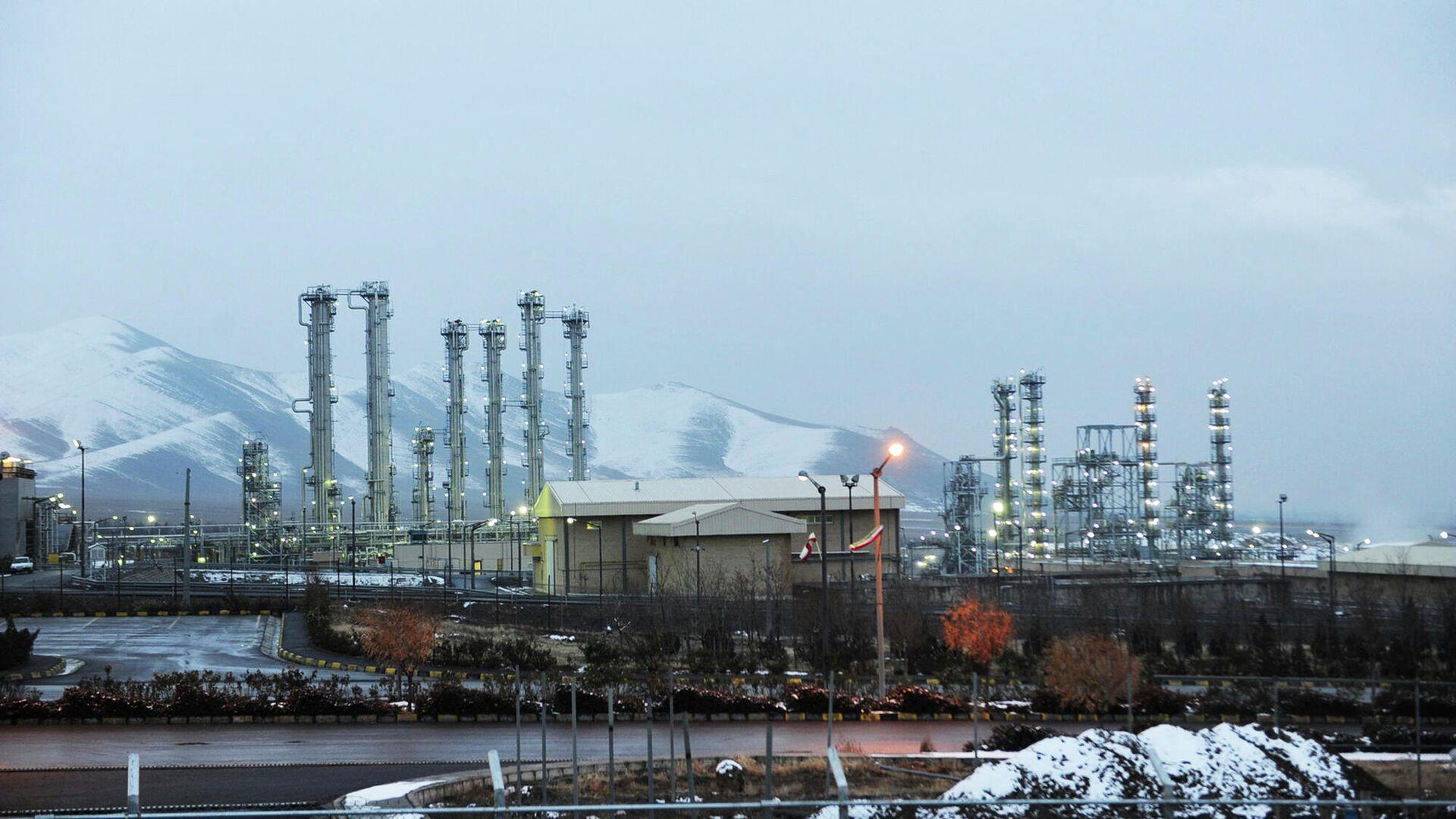 Тяжеловодный ядерный реактор в Араке, Иран - РИА Новости, 1920, 14.07.2020
