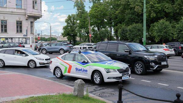 Беспилотный автомобиль StarLine протестирован на дорогах Санкт-Петербурга