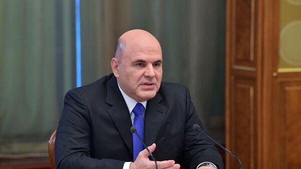 Председатель правительства РФ Михаил Мишустин проводит переговоры с премьер-министром Республики Беларусь Романом Головченко