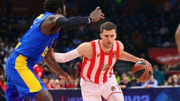 Американский баскетболист Црвены Звезды Билли Барон