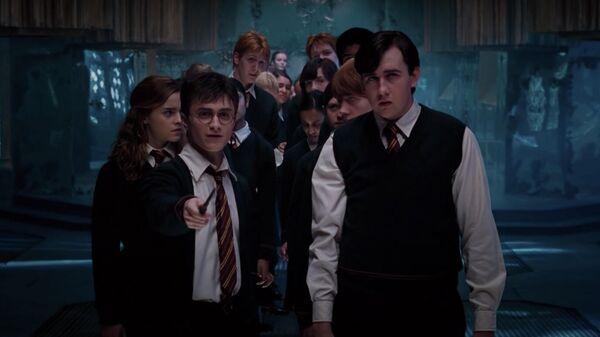 Кадр из фильма  Гарри Поттер и Орден феникса