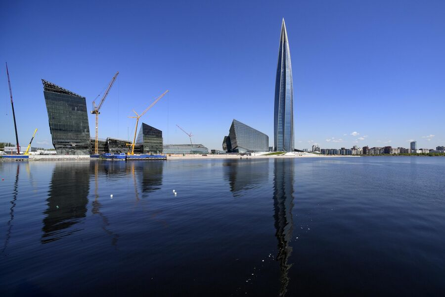 Лахта-центр в Санкт-Петербурге