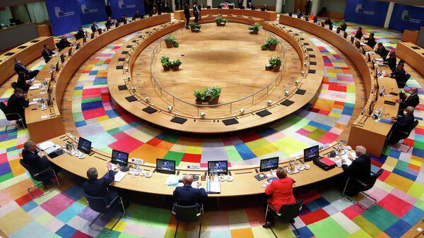 Первый очный саммит ЕС в Брюсселе после пандемии