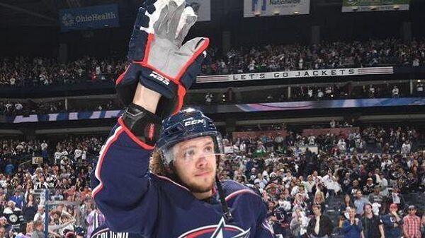 Хоккеист клуба НХЛ Нью-Йорк Рейнджерс Артемий Панарин