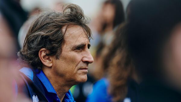 Бывший пилот Формулы-1 итальянец Алессандро Дзанарди
