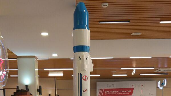 Макет многоразовой ракеты легкого класса Крыло-СВ