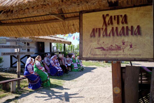 Этнографический комплекс Атамань в Краснодарском крае
