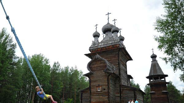 Музей-заповедник Малые Карелы в Архангельской области
