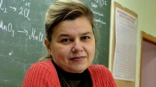 Учитель химии из школы № 32 Красноярска Ольга Юмашева