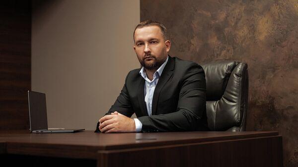 Кандидат на пост президента Белоруссии Сергей Черечень