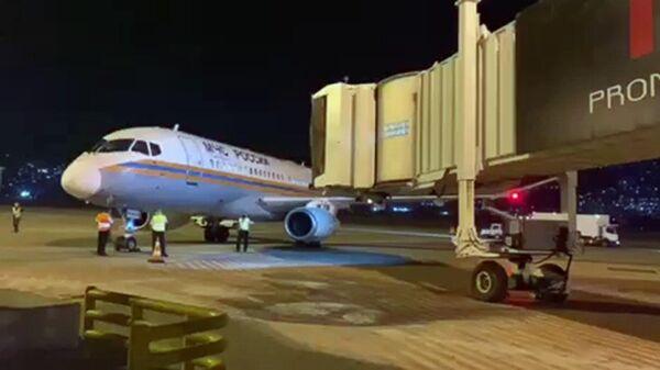 Самолет с российской помощью приземлился в Бейруте