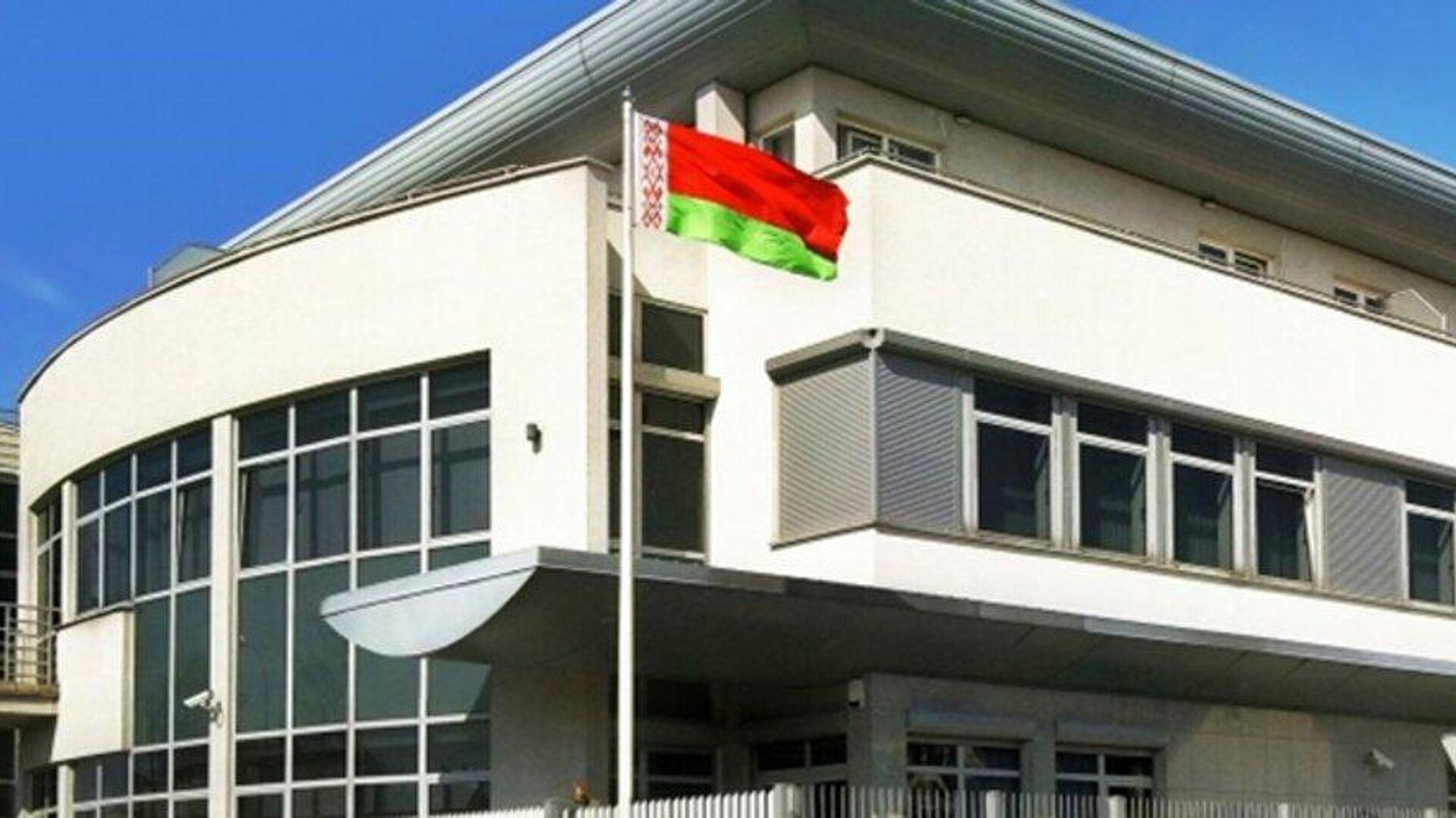 Здание посольства Белоруссии в Варшаве - РИА Новости, 1920, 18.11.2020