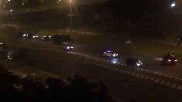 Применение светошумовых гранат в Минске