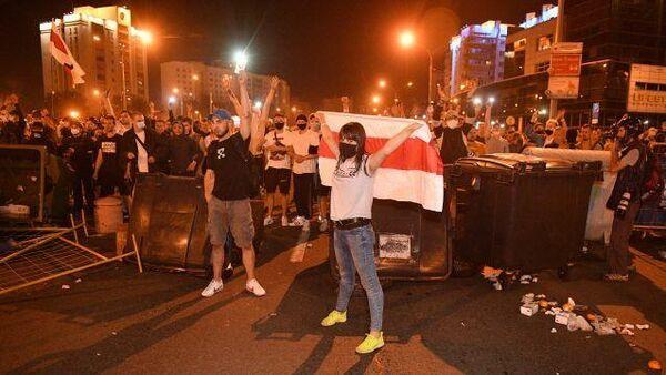 Протесты в Минске. 10 августа 2020