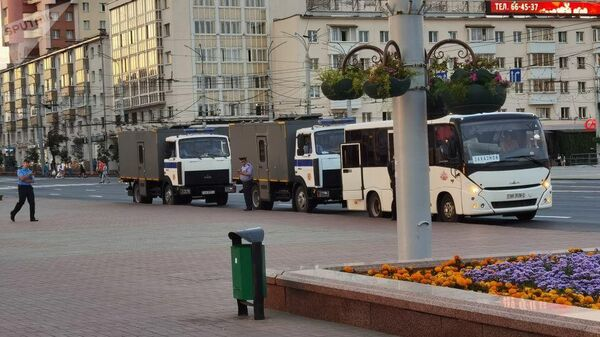 Автозаки и автобусы в Витебске