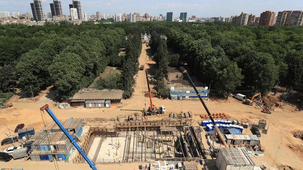 Реконструкция парка Северного речного вокзала