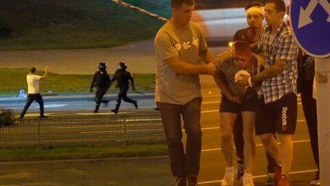 Столкновения в Минске. День второй