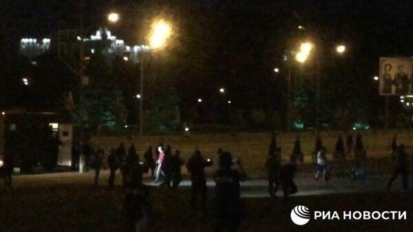 В Минске сигналят и стреляют во время протестов