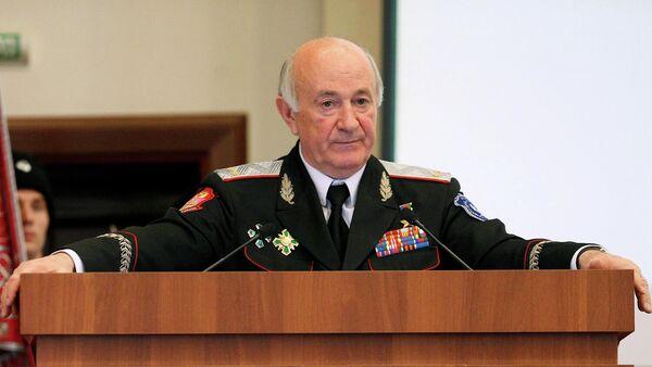 Атаман Всероссийского казачьего общества Николай Долуда