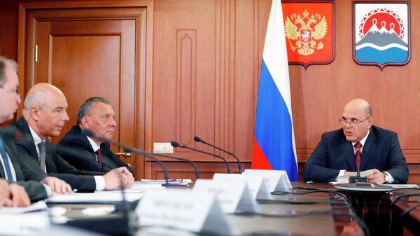 Председатель правительства РФ Михаил Мишустин проводит совещание об электроэнергетике и газификации Дальнего Востока