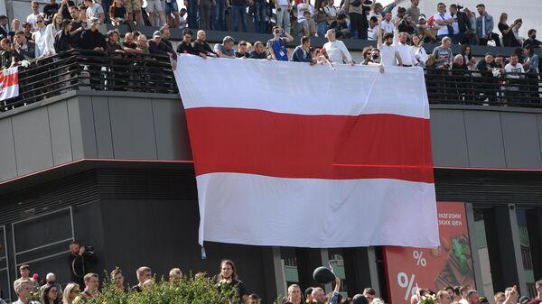 Митинг протеста в Минске