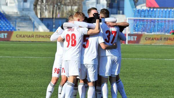 Футболисты клуба СКА-Хабаровск