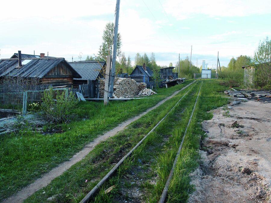 Станция в поселке Авнюгский
