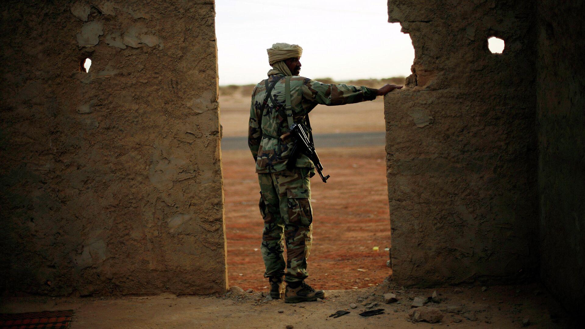 Военнослужащий армии Мали - РИА Новости, 1920, 16.01.2021