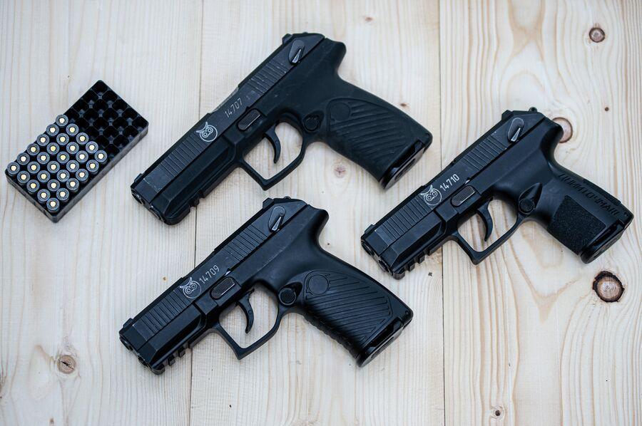 Пистолеты 'Полоз' и 'Аспид' калибра 9х19 мм
