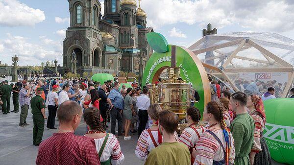 Мобильный туристско-информационный центр Тульской области в военно-патриотическом парке Патриот в Московской области
