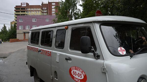 Больница в Омске, где находится Алексей Навальный